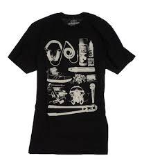 Ecko Unltd Mens Tools Of The Trade Graphic T Shirt Black S