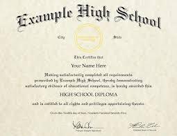high school diploma name fake high school diplomas customize your own buy online