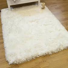 small fluffy rug for bedroom white rugs home decor warm and elegant