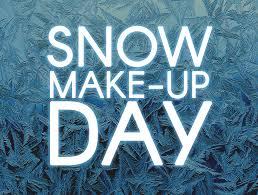 Image result for snow make up day calendar