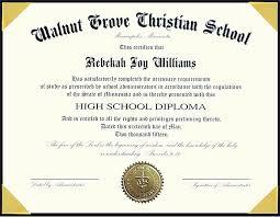 Free Homeschool Diploma Template 60 Free High School Diploma Template Printable
