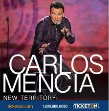 Carlos Mencia Salinas Tickets Boletos Fox Theater Ticketon