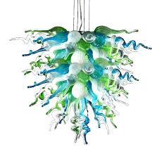 large seeded glass chandelier seeded glass lighting