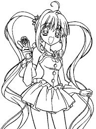 Small Picture Animations A 2 Z Coloring pages of Mermaid Melody Pichi Pichi Pitch