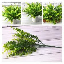 New <b>5PCS Artificial Grass Plant</b> Decorative Bendable Fake <b>Plant</b> ...