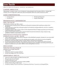 Objectives Resume Examples Objective Resume Examples Best