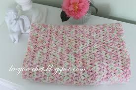 Bernat Baby Blanket Crochet Patterns Fascinating Lacy Crochet Tiny Tulips Baby Blanket Free Crochet Pattern
