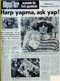 Geçmiş Gazete - Haber - Harp yapma, aşk yap!