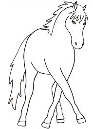 Cavallo Da Colorare Cose Per Crescere