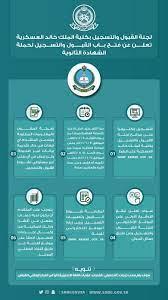 شروط القبول في كلية الملك خالد العسكرية ومزايا التخرج منها