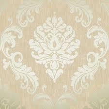 chelsea glitter damask wallpaper cream gold h980508