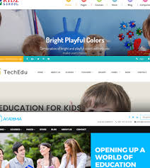 Templates For Education 9 Bootstrap Education School College Templates Azmind
