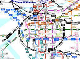 大阪 メトロ 路線 図