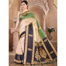 zoya clothing satin multicolour saree zoy24