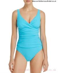 profile by gottex tutti frutti one piece swimsuit turquoise blue 26ss8495