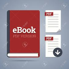 Ebook Template Ebook Template With Pdf Label And Pdf Page Icons With Download