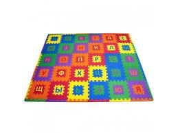 Купить детский <b>коврик FunKids</b> Алфавит-1, (<b>развивающий</b>) по ...