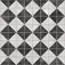 Black And White Tiles Black And White Tiles That Tile Seamless In All Directions Stock