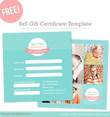 Gift Voucher Free Template Free Gift Certificate Template Photoshop Templates For