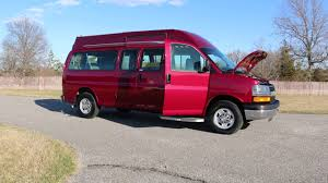 2007 Chevrolet Express 3500 Handicapped Mobility Ramp Van For Sale ...