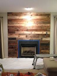 fireplace surround wood burning stove diy incredible surrounds ideas wooden for