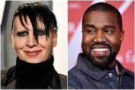 Kanye West brings out Marilyn Manson ...