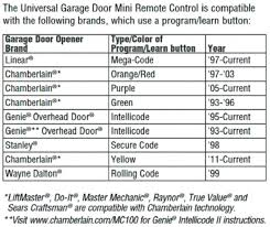 reprogram genie garage door opener genie garage door opener manual garage door how to program genie