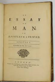 pope alexander essay on man address d to a friend  essay on man address d to a friend