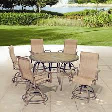 Backyard Creations 6 Piece Avondale Balcony Dining Collection at