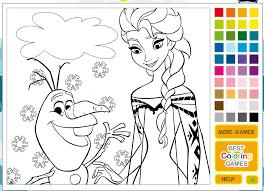 Princess Painting Games Games Video Game Frozen Princess Elsa Amp