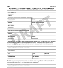 Hipaa Authorization Form Classy Medical Records Release Form Create A Request For Medical Records