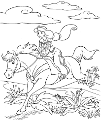 Small Picture Coloring Pages Disney Princess Jasmine Printable For Kids Boys