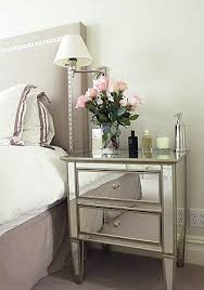 mirrored bedside tables headboard mirrored bedside table decor mirrored bedroom furniture trim headboard mirrored nightstands nightstand pink bedroom bedrooms mirrored furniture