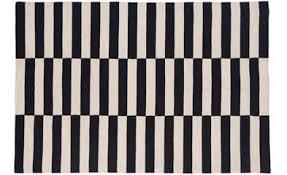 rug black and white. barbara rug black and white