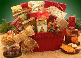 Have A Merry Christmas! This beautiful deep red holiday container  embellished with holly is filled