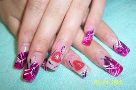 Cute new nail designs - how you can do it at home. Pictures ...