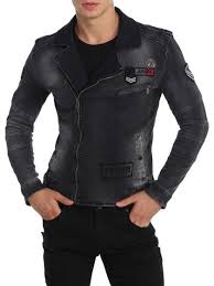 Patchwork Motorcycle Jacket By Ron Tomson At Gilt Favorite