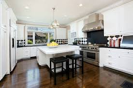 white country kitchens. Black And White Country Kitchen Designs Photo - 1 Kitchens