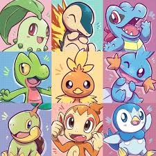 Which generation of starters were the best (Gen 2-4)? I think best overall  starters were Gen 3 but my favorite Gen is Ge… | Pokemon fofo, Pokemon,  Pokemons iniciais