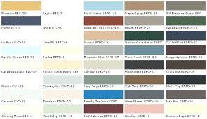 Exterior Paint Colors Chart Tubon Info
