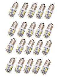 Ba9s Led Light Bulb Amazon Com Jklcom Ba9s Led Bulbs White 3528 10smd 1445