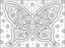 Small Picture Hard coloring pages of butterfly ColoringStar