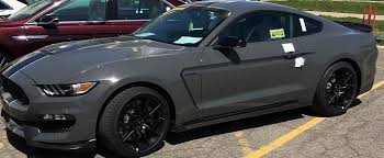 2018 ford color chart. contemporary 2018 lead foot gray looks smashing on 2018 shelby gt350 mustang  autoevolution ford color chart