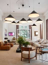 Pendant Lighting Living Room Living Room With Multiple Pendant Lighting With One Ceiling