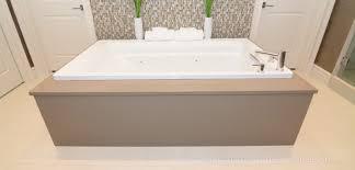 surround your bathtub with beautiful stone