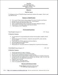 It Support Resumes Help Desk Resume Worker Cover Letter