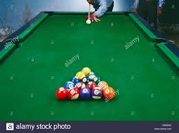 Setting Up A Pool Table Pool Table Set Up Game Stock Photos Pool Table Set Up Game Stock
