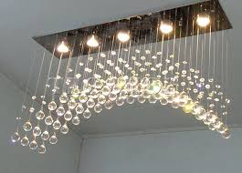 rectangular ceiling light best clear crystal chandeliers arched rectangle crystal ceiling lamp led fixture lighting