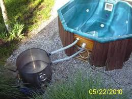 17 best stumpery images on concept from diy propane hot tub heater