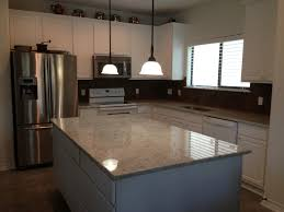 Colonial White Granite Kitchen Colonial White Granite With White Cabinets Kitchen Upgrade